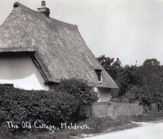Applecote Cottage, High Street, Meldreth. c.1930 | Photo supplied by Joan Gane