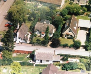 Aerial View of Jarman's Yard ~1990 | Photo property of Doris Gilham