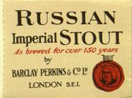 Advert for Barclay & Perkins Imperial Stout