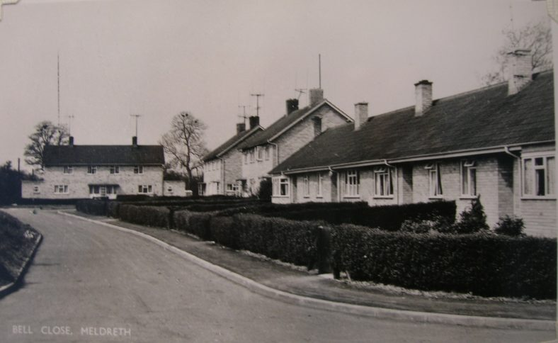 <b>Bell Close</b><br> c. 1960 | Postcard supplied by Brian Clarke