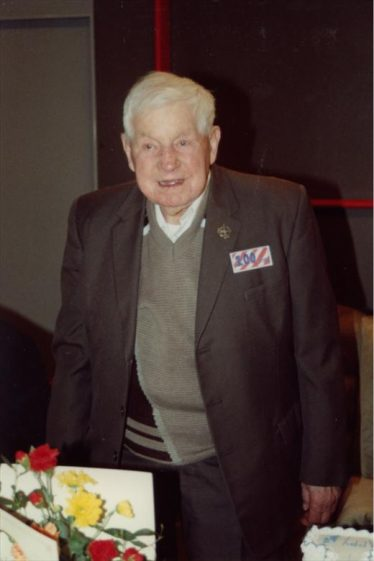 Bill Wing Senior on his 100th birthday in 1993 | Photo courtesy of the Wing family