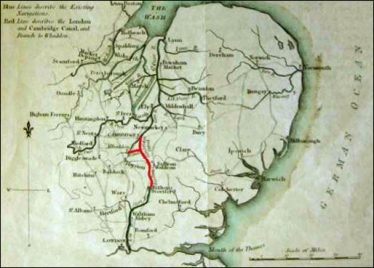 1811 - The Proposed Route | John Boyes