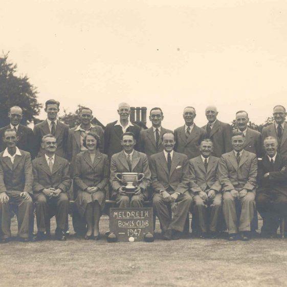 Meldreth Bowls Club, 1947