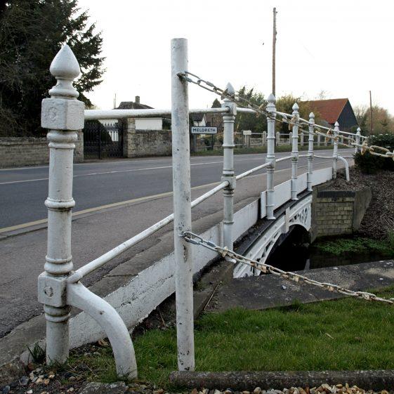 Bridge over Mel towards Meldreth | Bruce Huett 2015