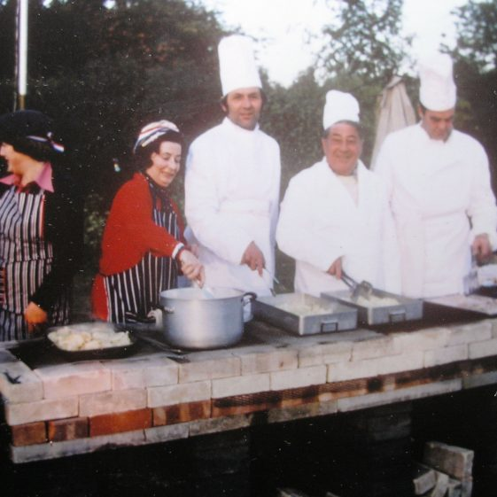 The BBQ Chefs | W.I Scrapbook 1977