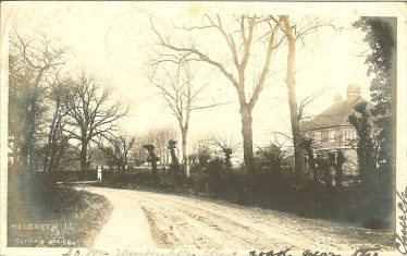 Belmington Close, North End, home of Mr and Mrs Dainty | Robert H Clark postcard supplied by Robert Skeen