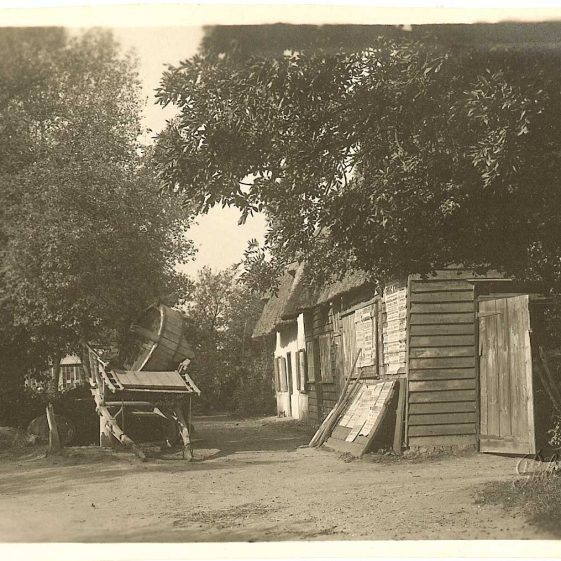 The blacksmith's forge, c. | Robert H Clark postcard supplied by Ann Handscombe