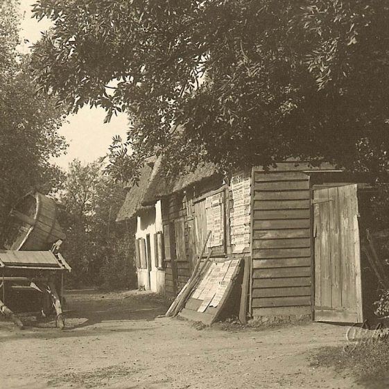 Hales' Blacksmiths and Wheelwrights, North End, Meldreth | Photograph supplied by Ann Handscombe
