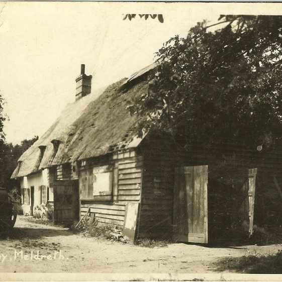 The Old Smithy, c. 1930 | Bell's Postcard