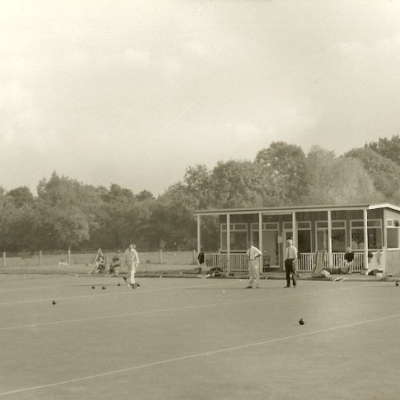 Meldreth Bowls Club, 1970s | Photograph supplied by Dennis Pepper