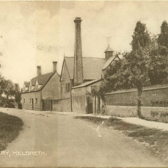 The Brewery and Manting House, c. 1920-1940 | Postcard supplied by Ann Handscombe