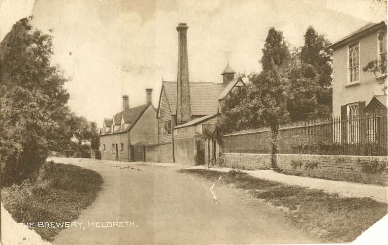 <b>North End: Manting House and the Brewery</b>   Robert H Clark Postcard