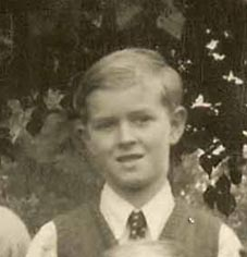 Brian in a Meldreth School photograph, 1948 | Photograph supplied by Brian Clarke