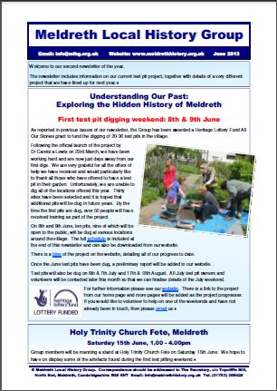 MLHG's latest newsletter