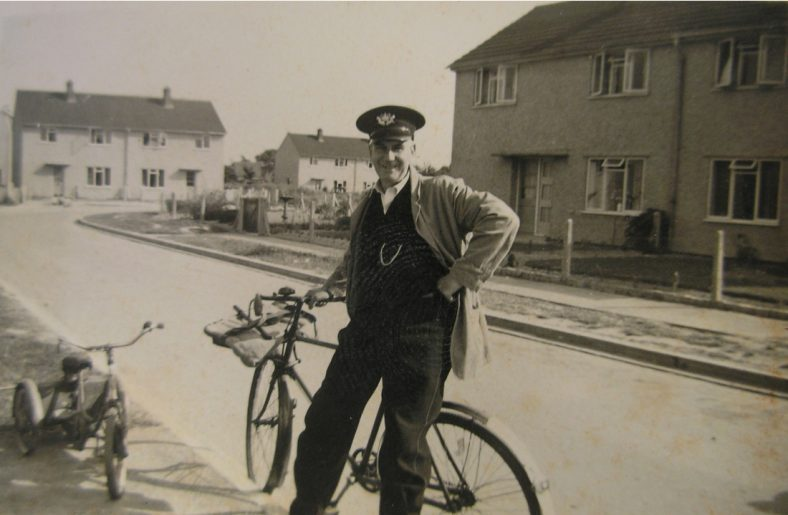 <b>Howard Road: Postman Charles (Jim) Rayner, c.1960</b> | Joan Fallon