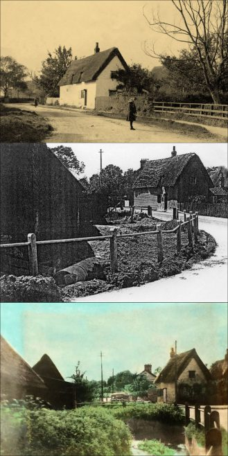 Sheene Cottage Changes c.1900 to c.1950 | Supplied by Monica Lilley, CCAN, supplied by Joan Gane