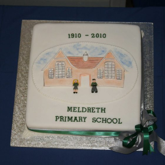 The centenary cake, made by Chris Robinson | Photograph by Malcolm Woods