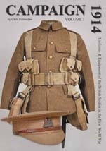 Chris Pollendine's book on Uniforms and Equipment of the British Soldier in the First World War, published in 2013
