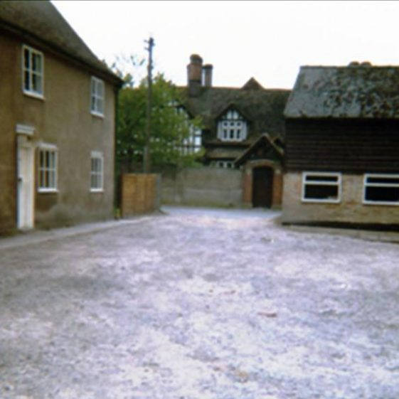 Maltings Farm (known as The Mill), High Street, Meldreth  following re-surfacing. 1980 | Photo supplied by Ann Carter