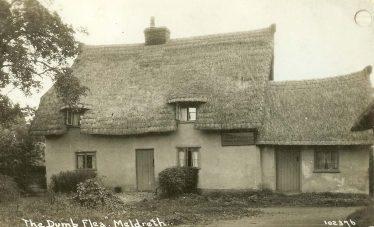 The Dumb Flea Public House | Bell's Postcard supplied by Ann Handscombe