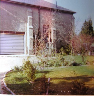 The chapel now being used as a garage | W.I Scrapbook 1977
