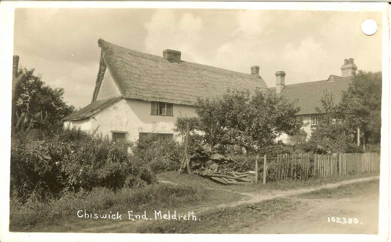 102380 Chiswick End, Meldreth | Bell's postcard supplied by Ann Handscombe