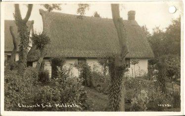 Chestnut Cottage, Chiswick End ~1925 | Bell Postcard