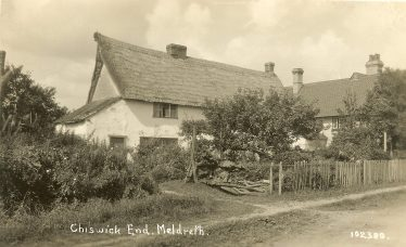 Chiswick Farm Cottages, 1920s | Bells Postcard