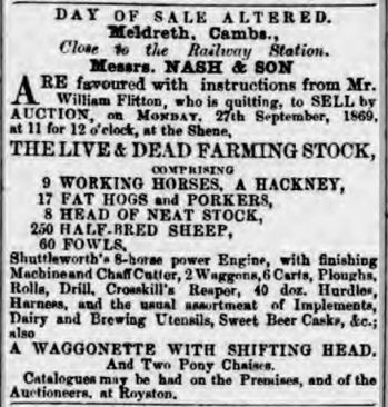 25 September 1869 | Cambridge Independent Press