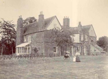 Meldreth Manor House circa 1896 | John Gipson