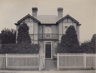 Court Lodge, which was built by J G Mortlock c. 1900 | Photograph supplied by John Gipson