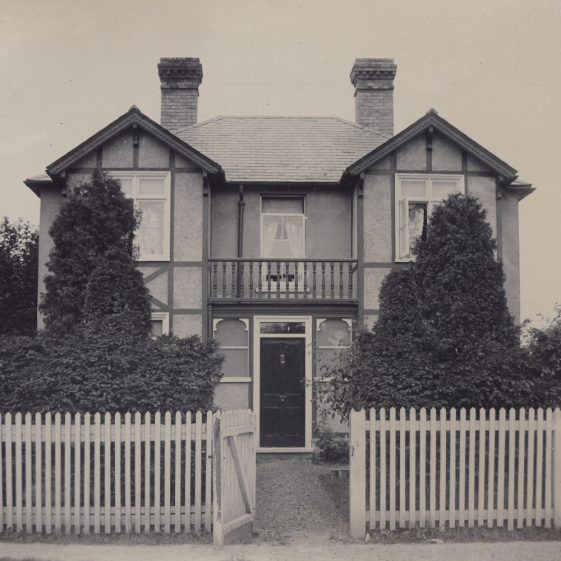 Meldreth Court Lodge, High Street, Meldreth.  Built by John George Mortlock ~1900 | Photo donated to MLHG by John Gipson