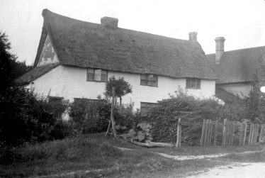 Chiswick Farm Cottages ~1930 | Cambridge Antiquarian Society Lantern Slide with thanks to the Cambridge Record Office