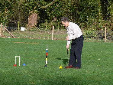 Enjoying croquet | Photograph supplied by Robert Skeen