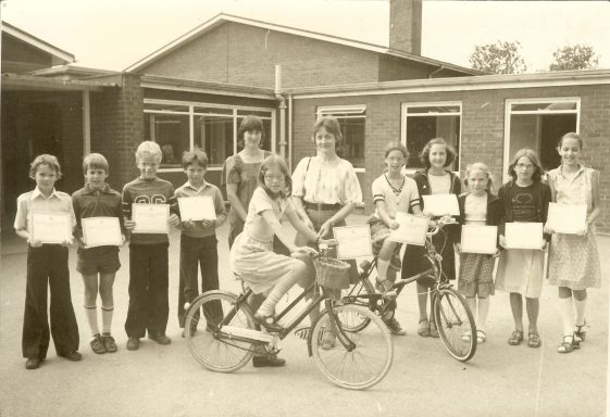 Cycling Proficiency Award, 1980