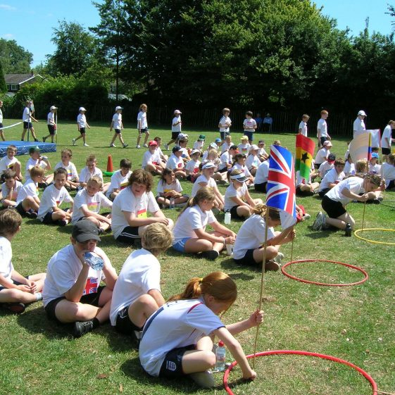 Meldreth Primary School Sports Day, July 2006 | Photograph by Kathryn Betts