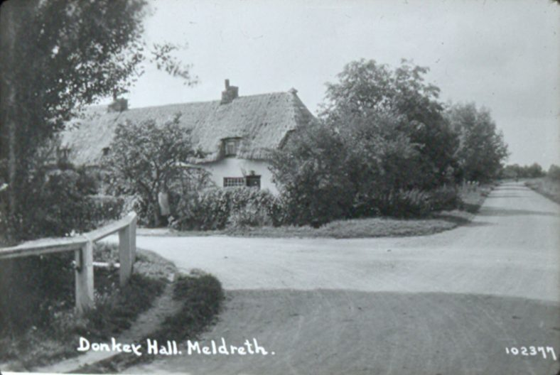 <b>Junction of Whitecroft Road, Whaddon Road and Fenny Lane: Donkey Hall</b>   Bell's Postcard, 1920s