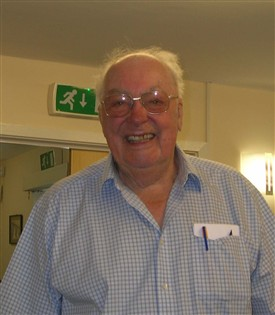 Dennis Pepper talking about carpentry classes at Melbourn School.  Recorded on 26th October 2006.