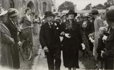 Hubert married Mrs Marion Fullagar on 3rd September 1938 | Photograph supplied by Ann Handscombe