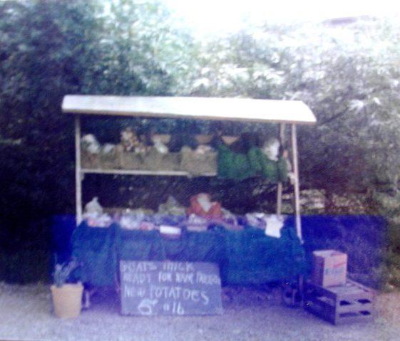 Fieldgate Farm stall origin of Farm Shop | Meldreth W.I.