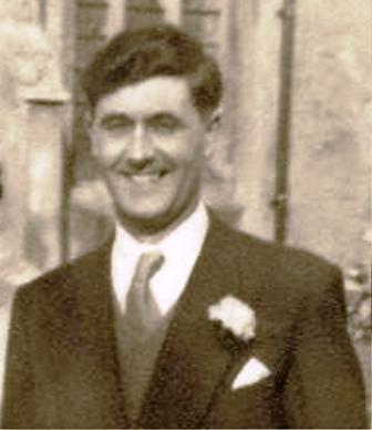 Don Findlay on his wedding day in the early 1950's | Photo supplied by Mary Findlay