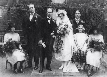 Frederick and Hilda Dorothy marry in October 1923 | Photo supplied by Graham Harrup