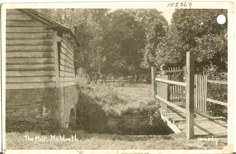 102369 The Mill, Meldreth [Flambards Mill] | Bell's postcard supplied by Ann Handscombe