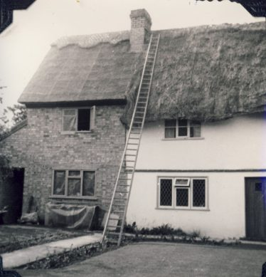 The extension is nearly complete. ~1980 | Freda Kefford