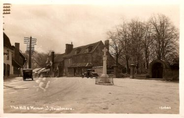 Fowlmere village, from a Bell's postcard of the early 1900s | fowlmere.com