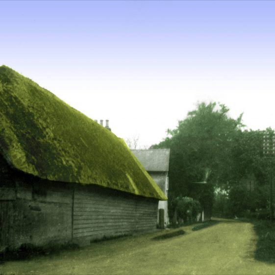 1933 - Thatched Barn | Photograph supplied by Robert Elbourn