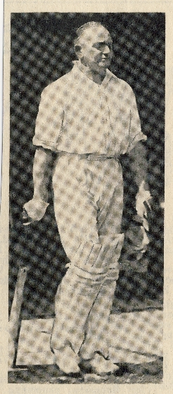 GCW Palmer was appointed Captain of Royston Cricket Club in 1934, a grand Club Cricketer popular with the team and all opponents.  He was skipper for 11 years | undated photograph in the Royston Crow