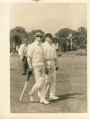 George Palmer (on the right) in the early 1950s | Janet and Michael Pilkington