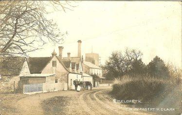 The Green Man and Jarman's Brewery ~1905 | Robert H Clark postcard