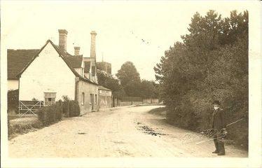 The Green Man and Jarman's Brewery ~1920 | Robert H Clark postcard